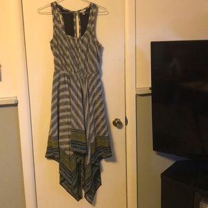 Casual scarf dress